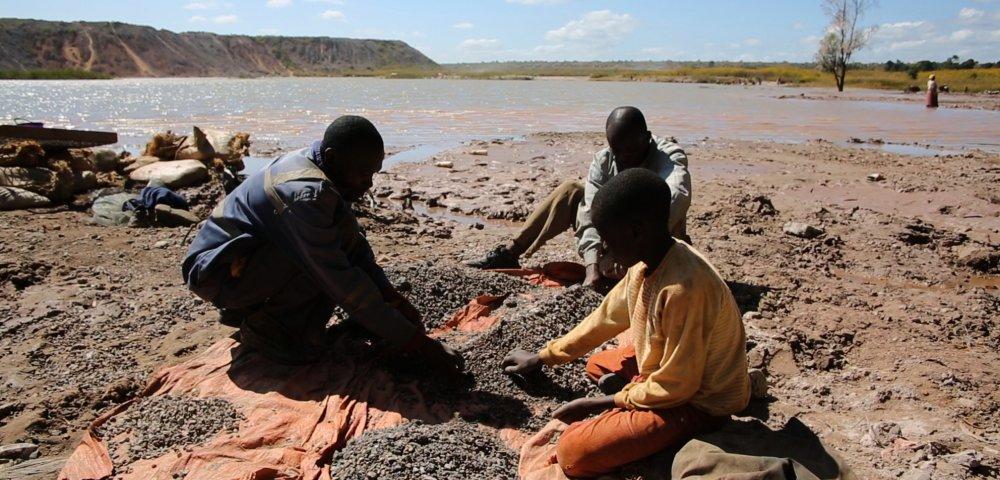 Des miniers du cobalt au Congo