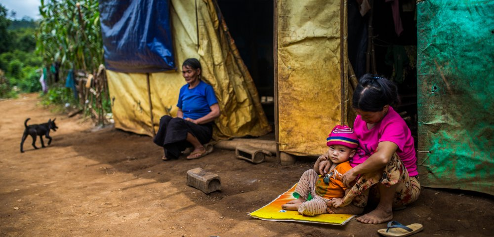 Des réfugiés rohingyas